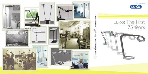 Luxo History Brochure