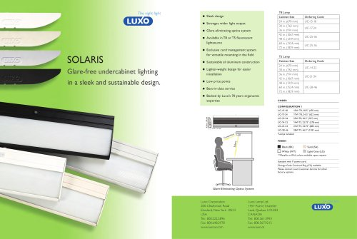 Solaris Undercabinet Brochure