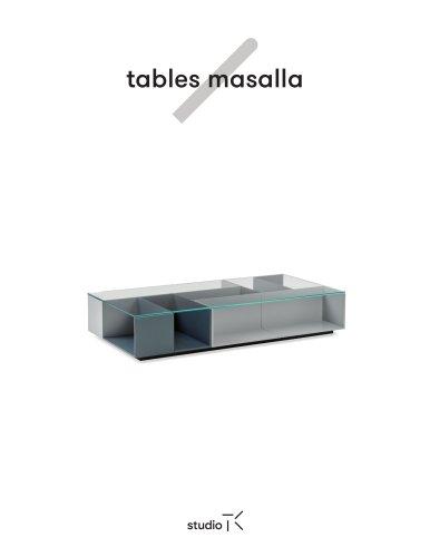 Studio TK-Masalla Tables