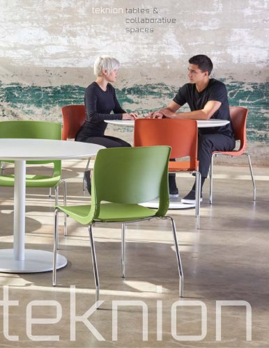 teknion tables & collaborative spaces