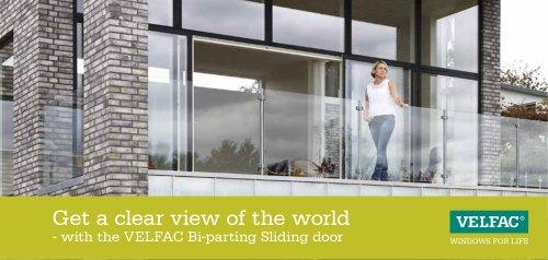 Bi-parting sliding door