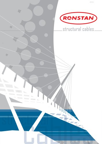 Structural Cable Catalogue