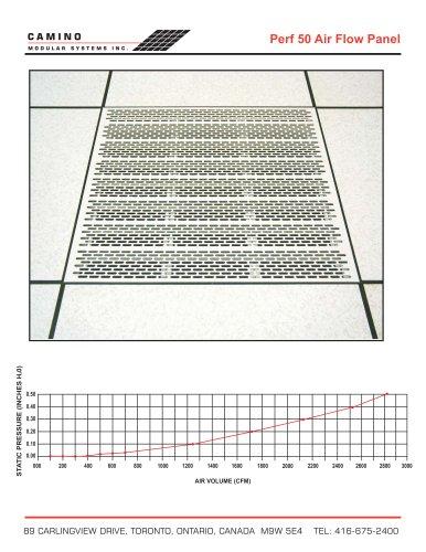 Perf 50 Air Flow Panel