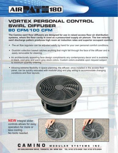Vortex Personal Control Swirl Diffuser