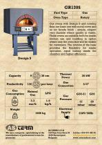 Gas Rotary Oven: GR120S