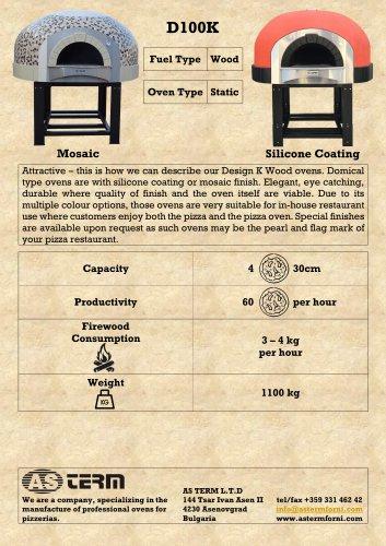 Wood Oven: D100K