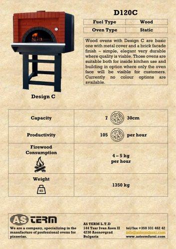 Wood Oven: D120C