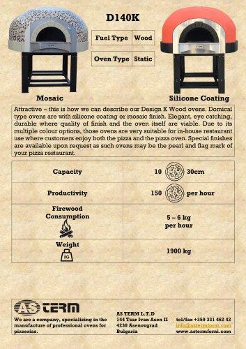Wood Oven: D140K