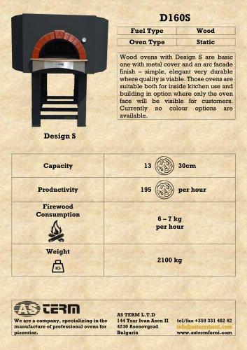 Wood Oven: D160S