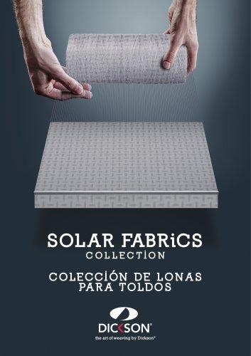 SOLAR FABRiCS COLLECTION COLECCI ÓN DE LON A S PA R A TOLDOS