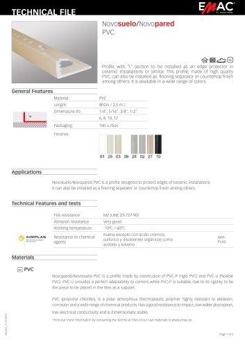 Novosuelo/Novopared PVC