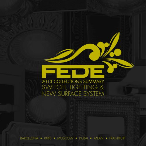 FEDE - SUMMARY COLLECTIONS