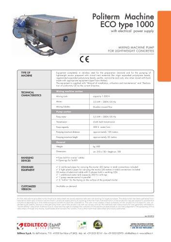 Politerm Machine:ECO type 1000