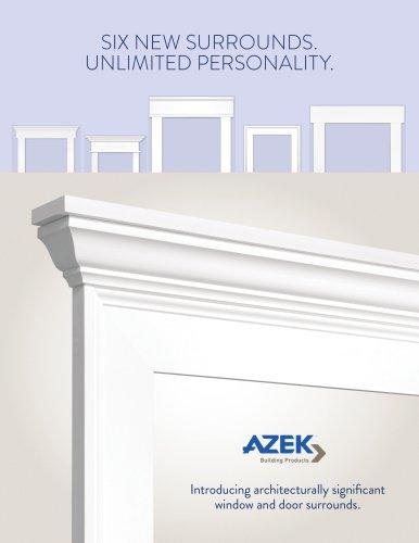 AZEK Window Surrounds Brochure
