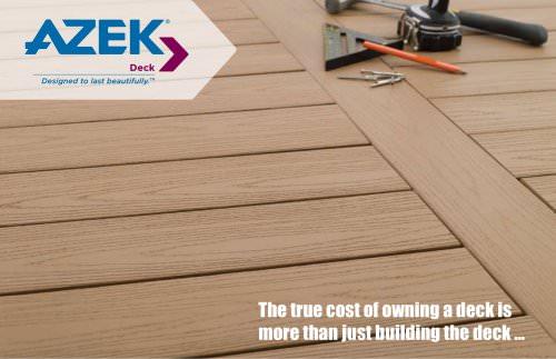 True Costs of a Deck