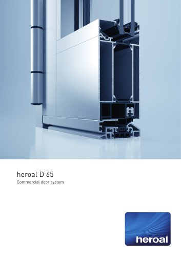 heroal D 65 commercial door system
