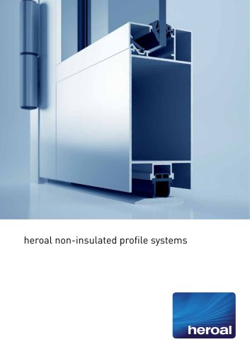 heroal non-insulated profile systems