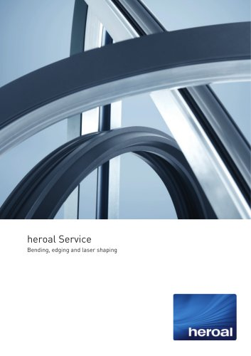 heroal Service - bending, edging and laser shaping