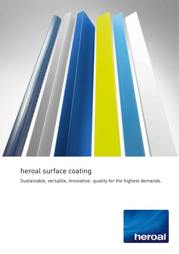 heroal surface coating