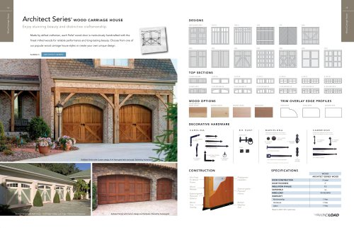 Architect Series®  WOOD CARRIAGE HOUSE