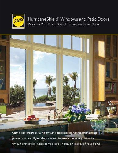 HURRICANESHIELD® IMPACT-RESISTANT WINDOWS AND PATIO DOORS
