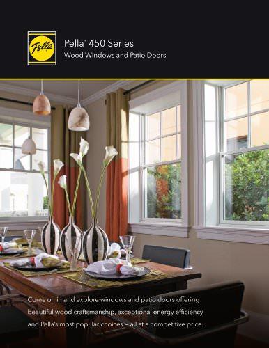 Pella® 450 Series Wood Windows and Patio Doors
