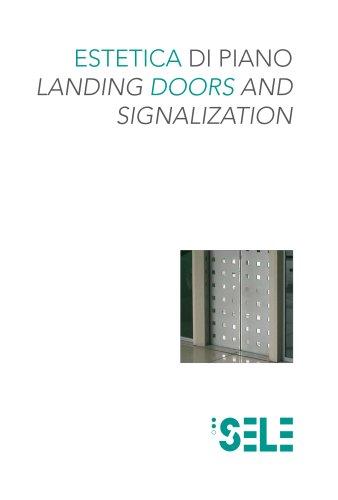 landing doors and signalization