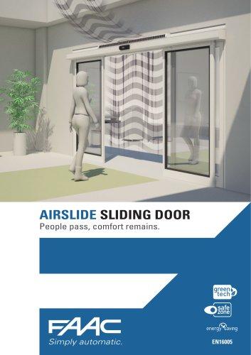 AIRSLIDE SLIDING DOOR