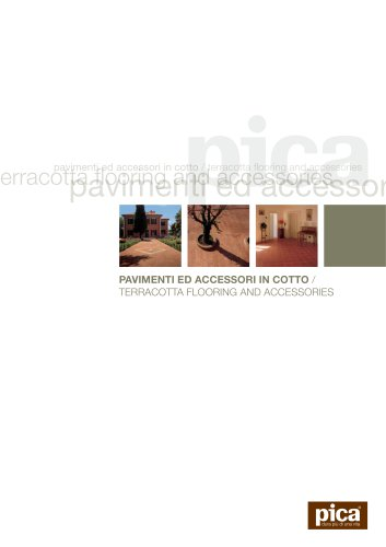 terracotta flooring and accessories
