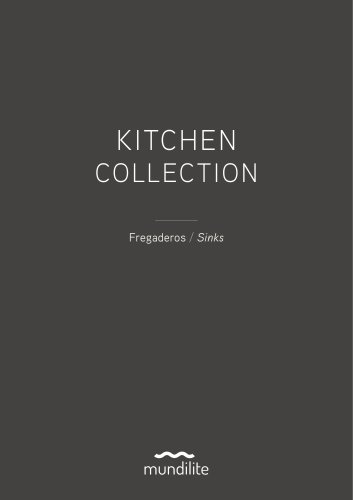 Catalogo de Fregaderos