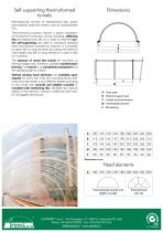 Self-supporting modular domes Tunnels