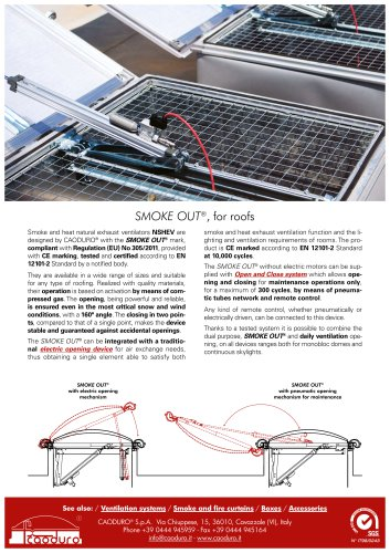 SMOKE OUT®, for roofs