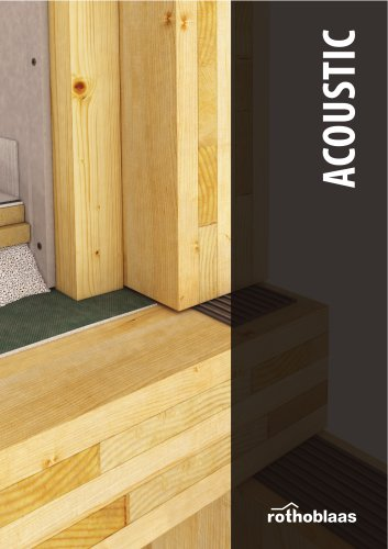 Acoustic insulation products