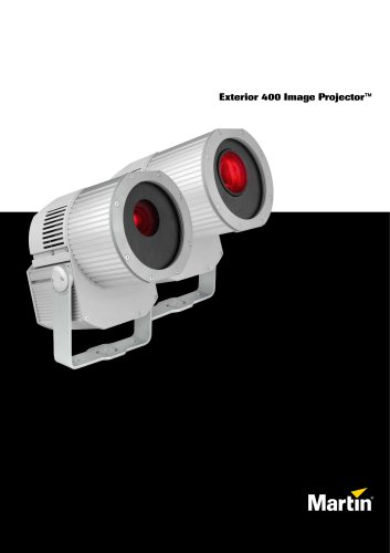 Exterior 400 Image Projector