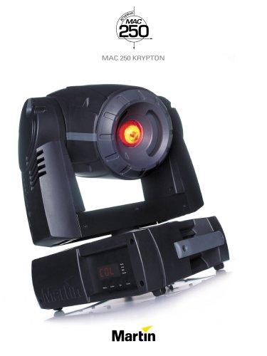 MAC 250 Krypton Brochure