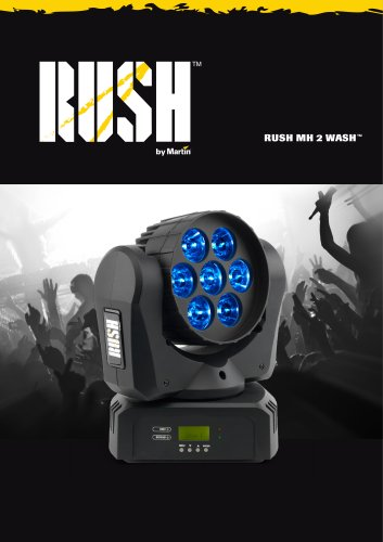 RUSH MH 2 Wash Specification