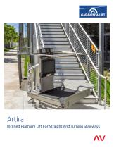 Artira - Inclined Platform Lift For Straight And Turning Stairways