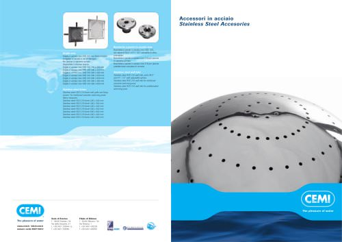 STAINLESS STEEL ACCESSORIES CATALOGUE