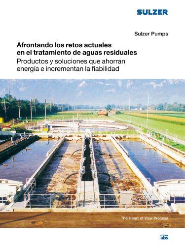 Meeting Today's Challenges within Wastewater Treatment