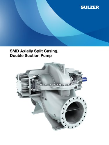 SMD Axially Split Casing, Double Suction Pump