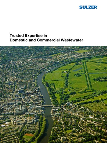 Trusted Expertise in Domestic and Commercial Wastewater