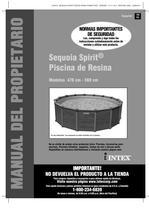 Sequoia Spirit Piscina de Resina