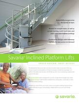 Savaria Delta Inclined Platform Lift