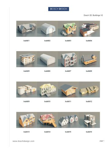 Dosch 3D: Buildings V2