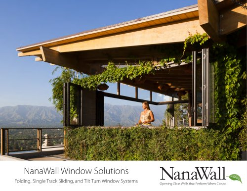 NanaWall Window Solutions