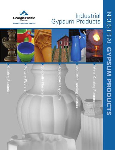 Industrial Plaster:Agricultural Plaster