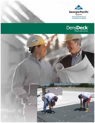 Literature:DensDeck Placas para techo