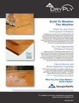 Plytanium Plywood:DryPly Plywood - Build to Weather the Weather