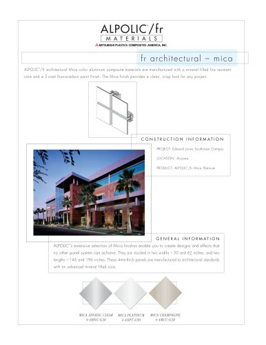 Architectural Mica