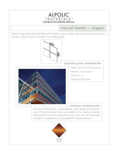 Natural Metals Copper